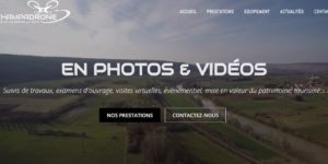 CHAMPADRONE - Capture Accueil site Internet
