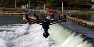 CHAMPADRONE - Drone Barrage de Courthiezy